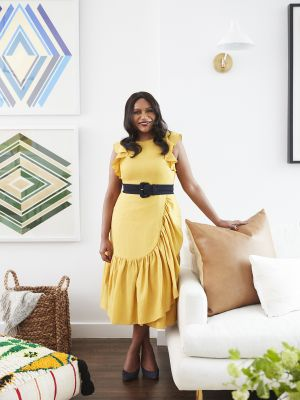 Step Inside Mindy Kaling's Chic NYC Apartment Styled by One Kings Lane