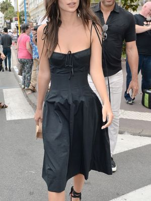 We See What You're Doing at Cannes, Emily Ratajkowski