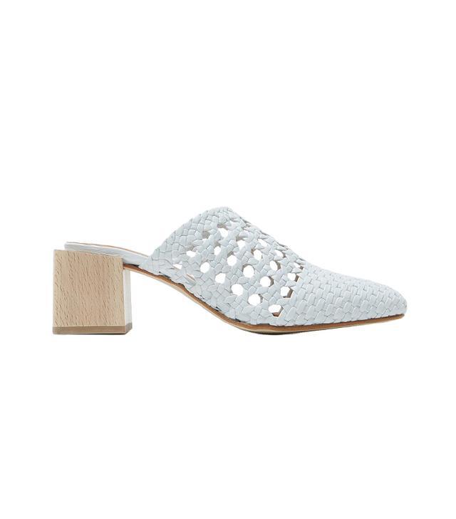 LOQ Ines Heels in Bianco