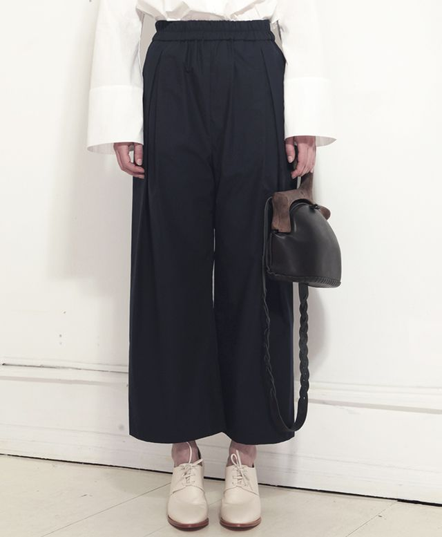 Lous Pleat Pant in Ink