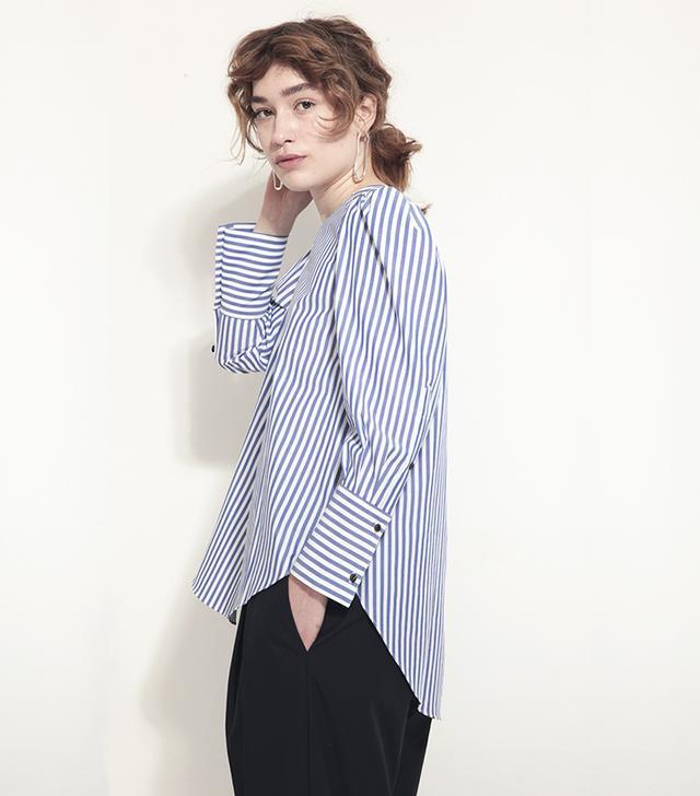 Fabiana Pigna Amelia Blouse in Stripe