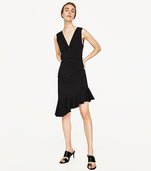 Zara Dress With Frill