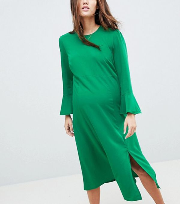 Best Maternity Wedding Guest Dresses: 9 to Shop Right Now | WhoWhatWear