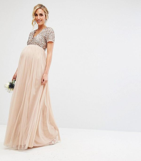 Best Maternity Wedding Guest Dresses: 9 to Shop Right Now ...