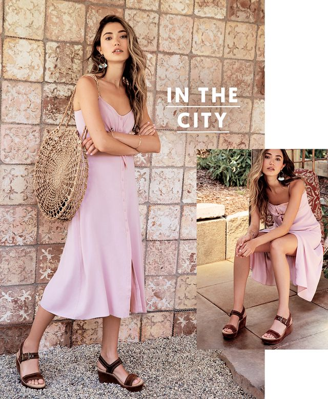 A city vacation that involves more exploring than relaxing by the beach calls for effortlessly chic outfits you can spend all day in.Light, easy-to-wear pieces like vintage-inspired dresses...