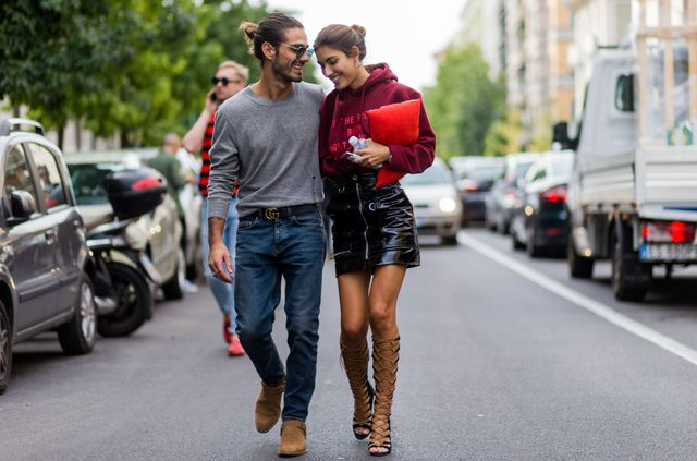 Pictured: Giotto Calendoli and Patricia Manfield  WWW: How can men nail smart casual while looking different than they do on the weekend? GN: I love adding a cashmere or knit to my gym look,...