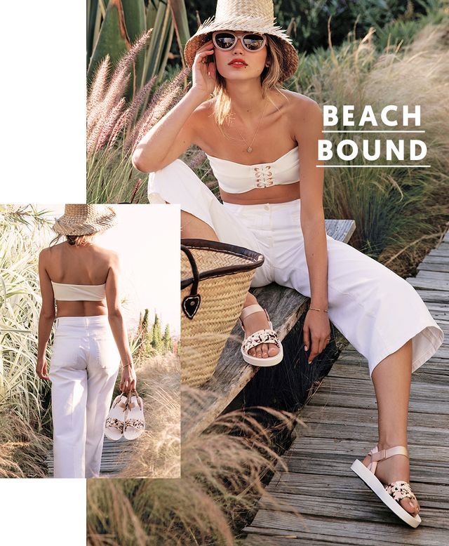 Who said going to the beach meant packing your usual frayed-edge denim shorts? Certainly not us: You can channel your inner coastal siren even if you're not traveling to the French Riviera...