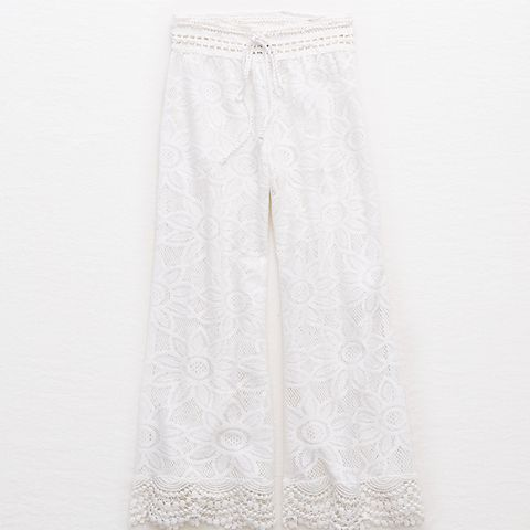 Sunflower Lace Culottes