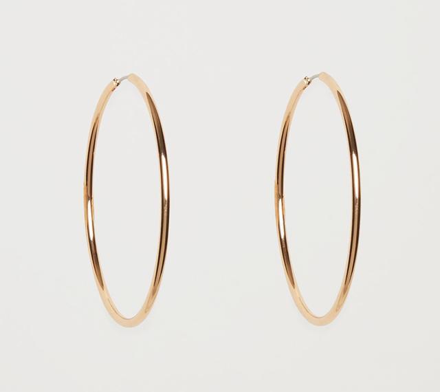 COS Large Hoop Earrings