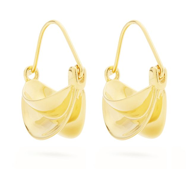 Anissa Kermiche Mini Gold-Plated Earrings