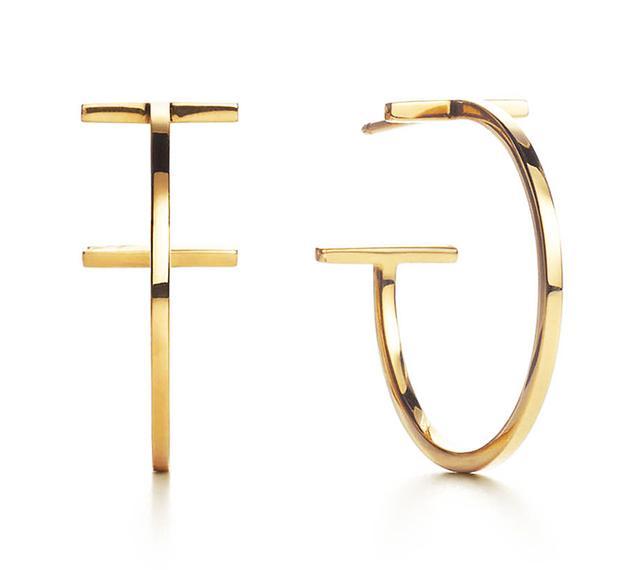 Tiffany Wire Hoop Earrings