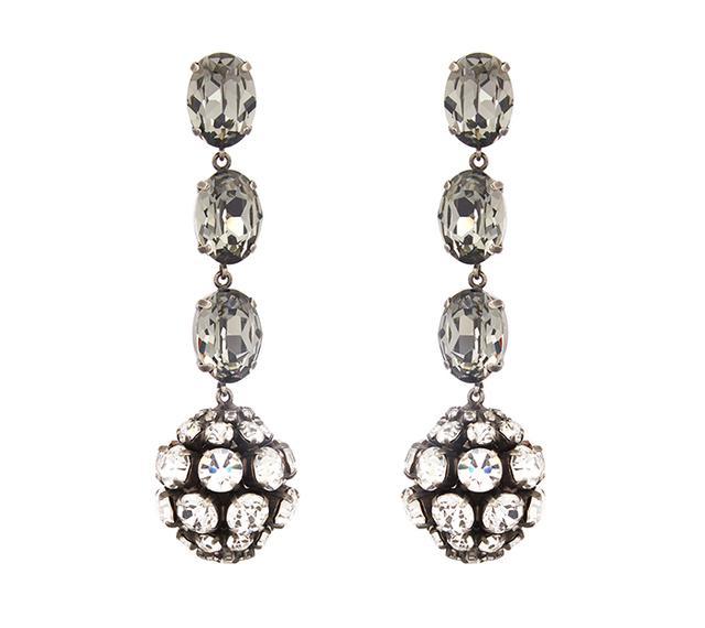 Marni Crystal Sphere Earrings