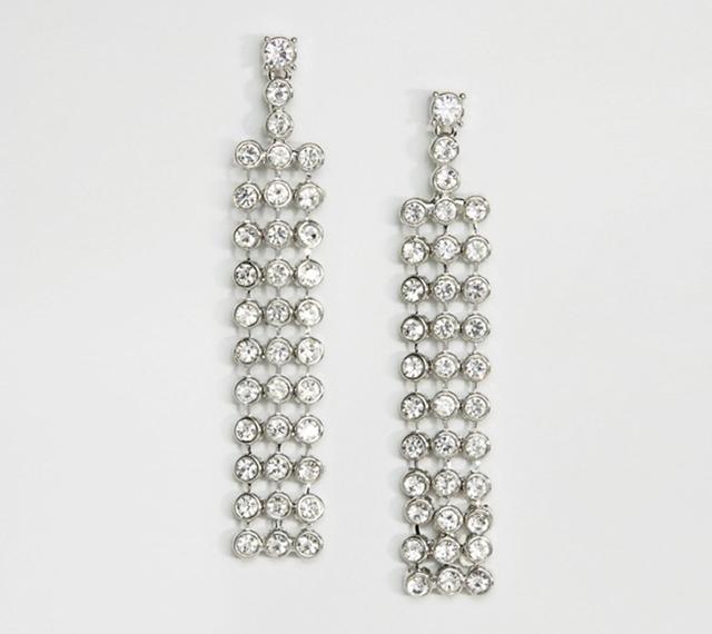 DesignB Rhinestone Earrings