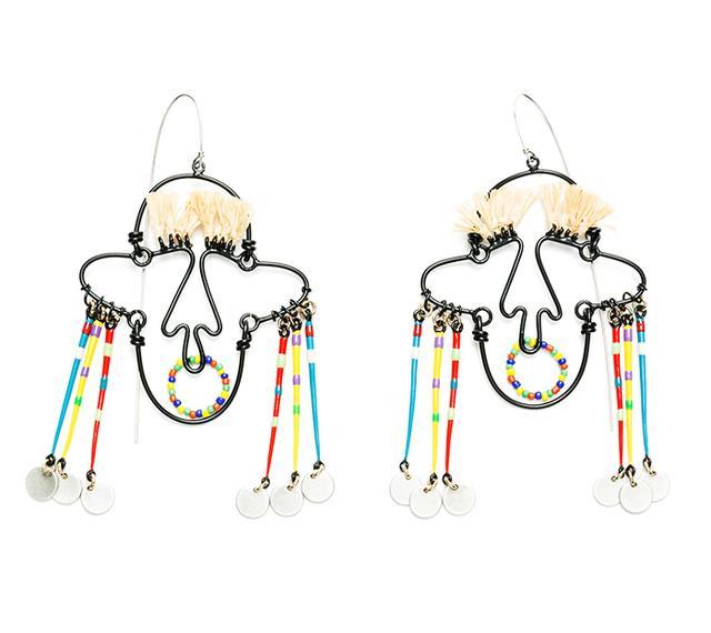 Bimba y Lola Tribal Earrings