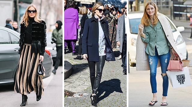 Olivia Palermo wearing Zara