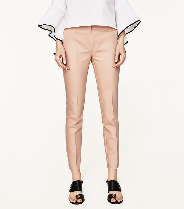 Zara Stretch Waist Skinny Trousers
