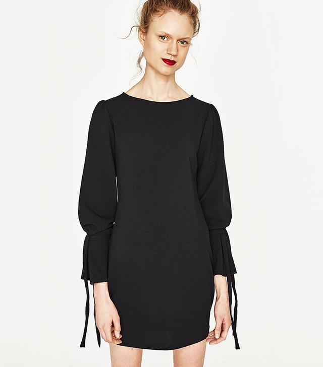 Zara Bow Sleeve Dress