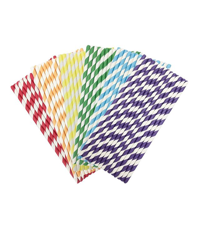 Parxara Rainbow Paper Straws