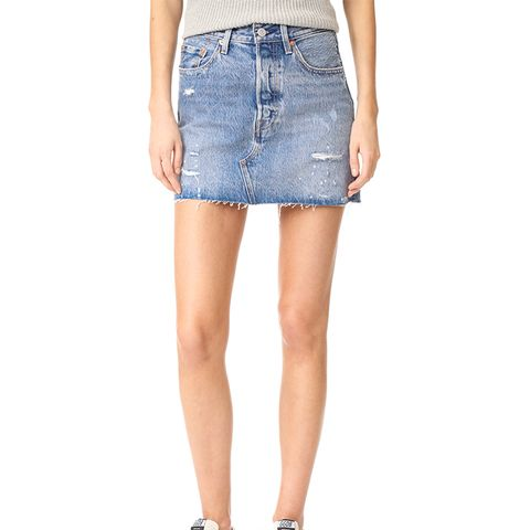 Deconstructed Skirt in American Wild