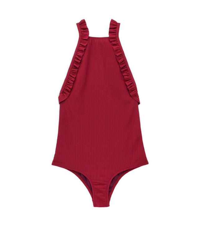 best red one-piece