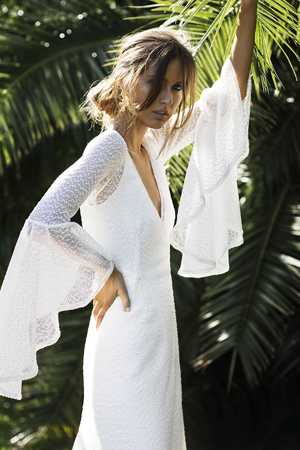 WWW: What do you think will be the next big bridal dress trend? MZ: The focus will be on interesting fabrics. Whether it's lace, embroidery, netting, or silk bases. For Elixir we have...
