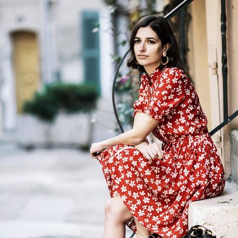 Dress Trends 2017: Aria Di Bari wearing a tea dress