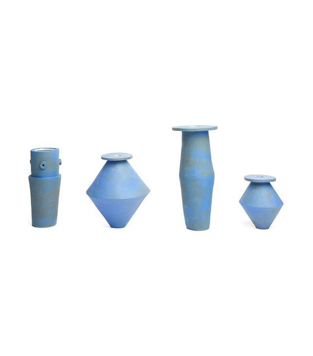 Bari Zipperstein Blue Saucer