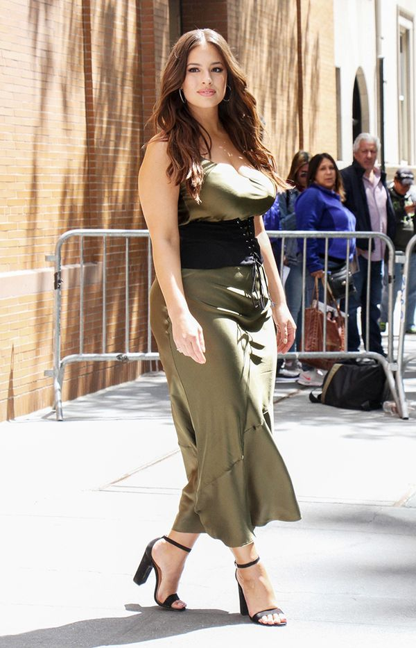 ashley graham street style