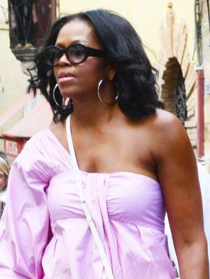 Let's Talk About Michelle Obama's Perfect Italian Vacation Outfit