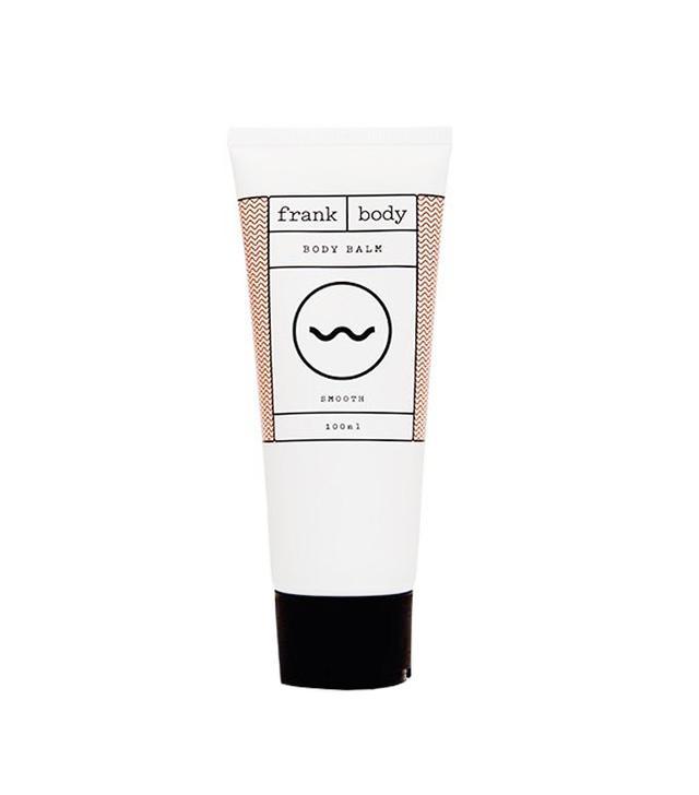 Frank Body Balm - best moisturizers for dry skin