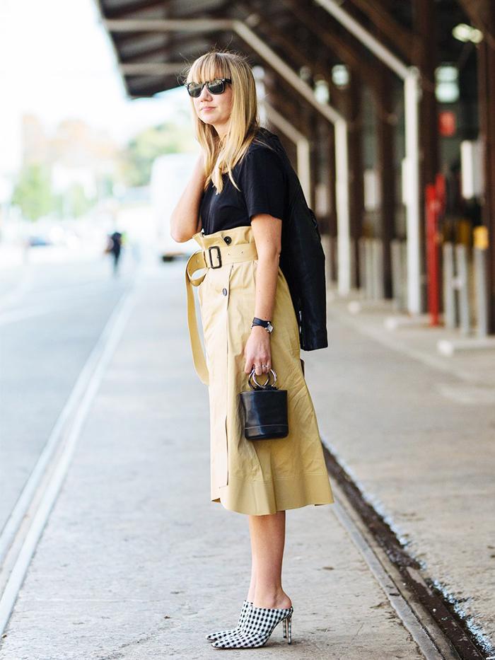 Australia Fashion Week Street Style 2017