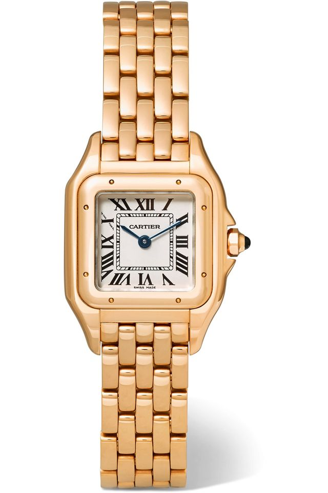 Cartier Panthère Small Pink Gold Watch