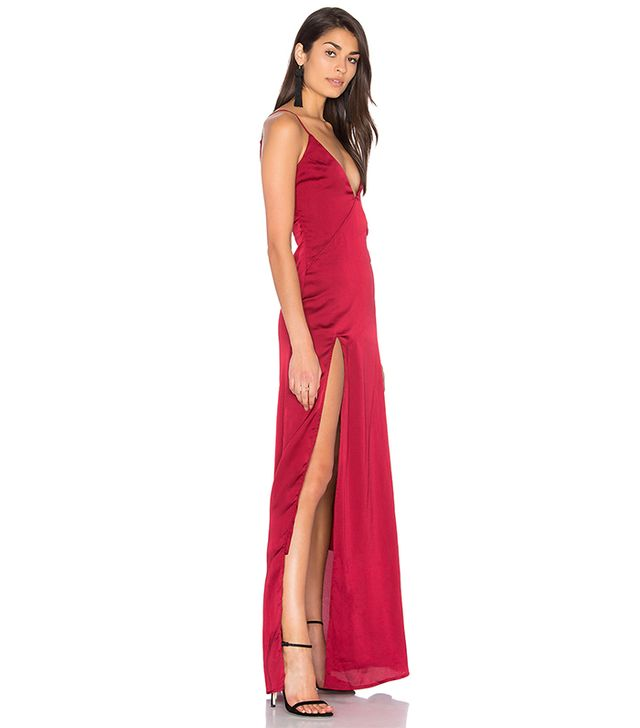 Lioness Up In Smoke Maxi Dress
