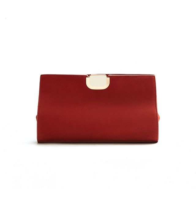MAngo Leather Clutch