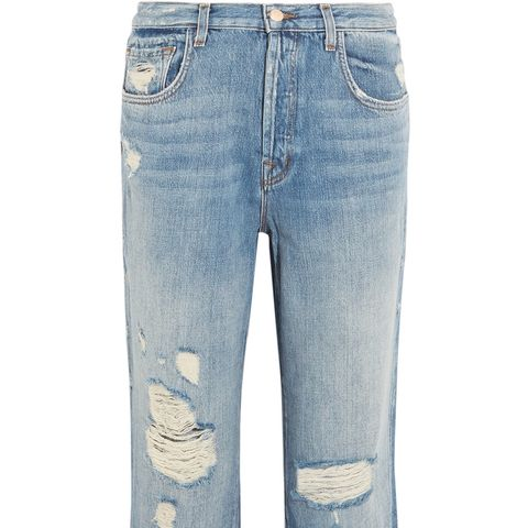 Ivy Cropped Straight Leg Jeans