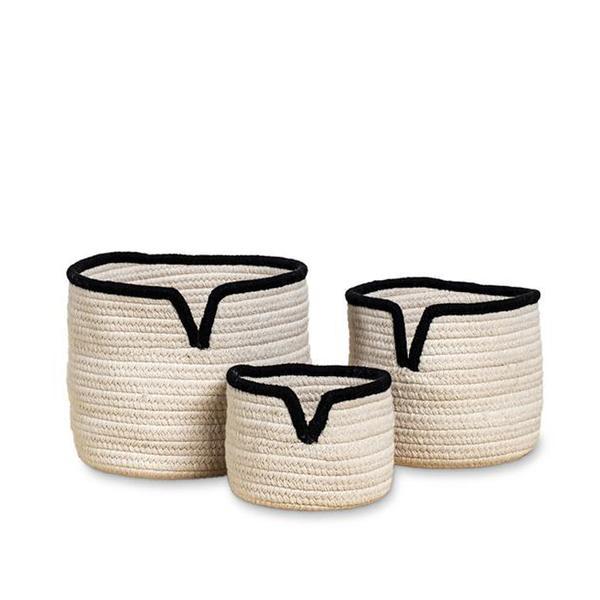 Consort V Cut Basket in Black