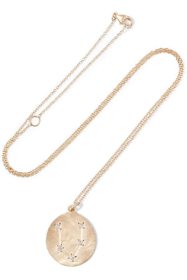 French-Girl Style—Gold Pendant Necklace | WhoWhatWear