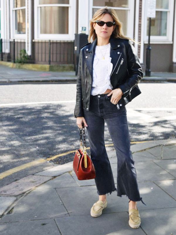 How to wear espadrilles: as loafers with denim