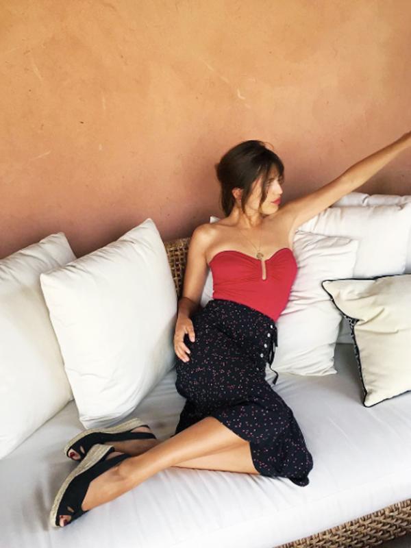 How to wear espadrilles: Jeanne Damas