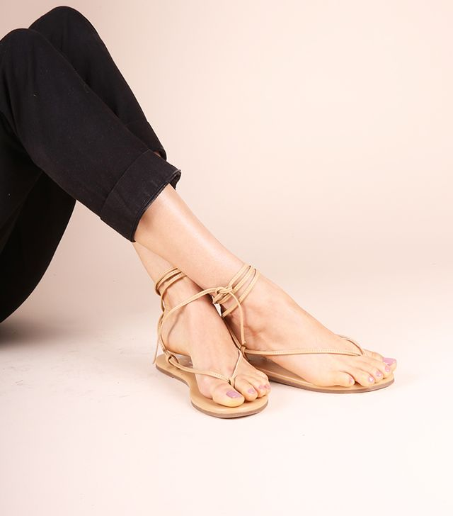 Olive & June Saturday Sandals in Tan