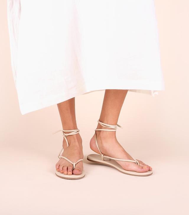 Olive & June Saturday Sandals in Bone