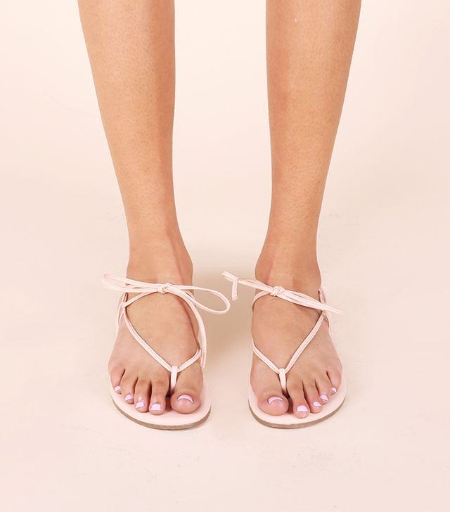 Olive & June Saturday Sandals in Blush