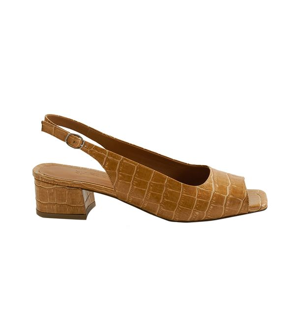 cool fashion brands - BY FAR Caroline Croco Shoe
