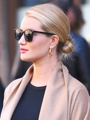 Rosie Huntington-Whiteley Wore the Chicest Dress to Her Baby Shower