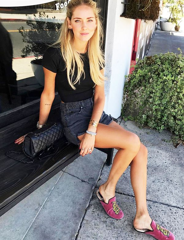 What To Wear To a BBQ chiara ferragni