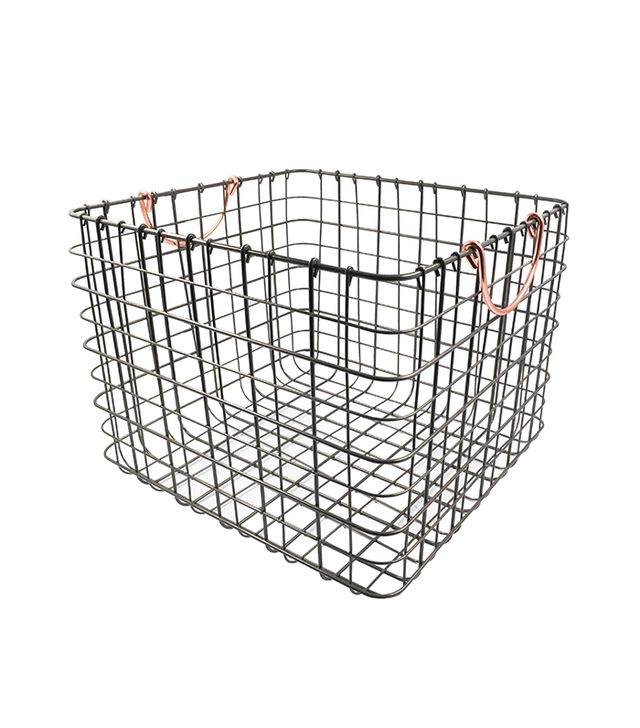 Threshold Wire Large Straight Milk Crate