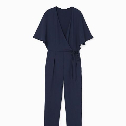 Long Wrapped Jumpsuit
