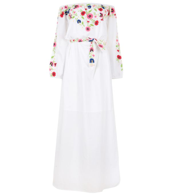 Best white summer dresses: Pampelone Eivissa Maxi Dress