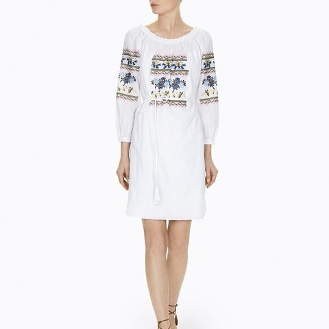 Cross Stitch Cotton Dress