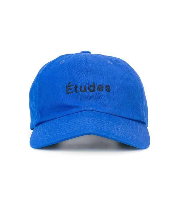 What to Pack for a Road Trip: Etudes Logo Baseball Cap